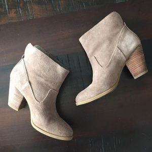 "LEATHER ""SUEDE"" BOOTS"